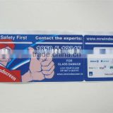 2016 car tax disc holder with OEM 4c printing