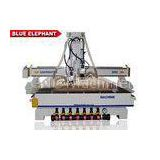 Vacuum Pump ATC CNC Router Electronics Cast Steel Gantry Moving Type