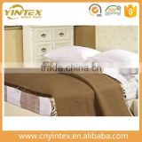 Hotel collection modern five star hotel sheep wool blanket