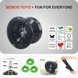 BEBOO YOYO S2 black metal yoyo god of dead Professional yoyo for Alloy Aluminum