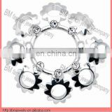 unique style custom nickel free nipple ring body piercing jewelry online