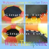 4M inflatable water trampoline,water bouncer for jumping