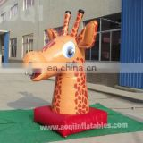 cartoon inflatable Giraffe