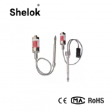 High temperature melt pressure sensor transmitter