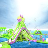 Cheap Prices White Outdoor Inflatable Floating Water Park Playground