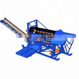 Alluvial gold mining machine gold trommel wash plant mobile