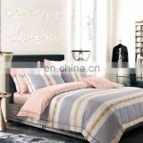 China supplier home textile fabric cotton reactive printing branded print quilt cover set bedding set bed sheet set