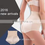 2016 new women underwear seamless high waist slimming panties buttock padded butt lift panties