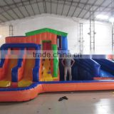 2016 hot sale cheap inflatable backyard water slide, inflatable mini water park                                                                         Quality Choice