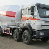 North Benz 14cbm Concrete Mixer Truck, Beiben Cement Mixer Truck