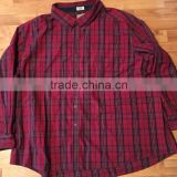 cotton plaid casual shirt with button-down mens classic fit long sleeve work shirt