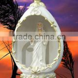 Polyresin religious crafts souvenir church decoration