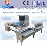Egg washing and grader machine, chicken egg drying and coding machines, goose eggs weight grading sorter machine