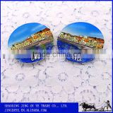 Realistic Custom Tourist Souvenir 3D Resin Fridge Magnet Cities