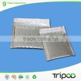 resist compression aluminum bubble bag,self adhesive foil aluminum bag,silver aluminium bubble bag