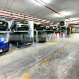 Custom 2 level car lift parking/simple car lift parking system