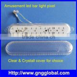 Waterproof fairground Lighting changeable rgb 5050pixel led lighting rgb led amusement bar light                                                                                                         Supplier's Choice