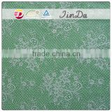 Embroidery guipure nylon stretch lace with high quality