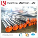 ASTM A500 GR.B ERW BLACK WELDED STEEL PIPE / Q235 Electric Resistance Welding steel pipe