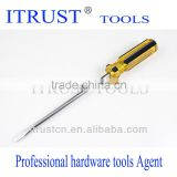 Yellow And Black Plastic Handle Screwdriver SD1067
