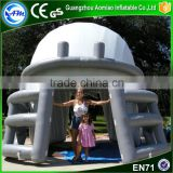 inflatable football helmet tunnel,large inflatable football helmet for sport game