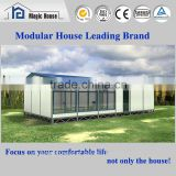 Newest Designed office/Steel prefab house/Trade Assurance container relax room/ prefabricated beach home