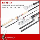 Chentilly02 MG-TS-15 carbon fiber 2 sections Spinning Fishing Transparent Fishing Rod wholesale