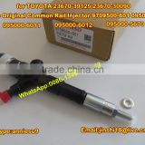 Denso Original Common Rail Injector 095000-6010 095000-6011 095000-6012 095000-5670 for TOYOTA 23670-39125 23670-30090