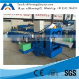 Cold Forming Galvanized Steel Metal Roof Ridge Cap Roll Forming Machine Manufacturer in China