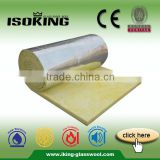 ISOKING Heat Insulation Fiber Glass Wool Blanket With Aluminium Foil                                                                         Quality Choice