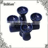 China Hookah shisha Ceramic Bowl Four Heads Full in Different Flavor Beauty Hookah Bowl Top Head