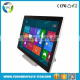 "Zero bezel multi touch screen 21.5"" projected capacitive touchscreen on lcd monitor"
