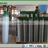 high pressure aluminum gas cylinders 4L Oxygen /Nitrogen/CO2 /Argon cylinders TPED/ISO9809 standard