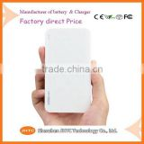 High quality Cheap Price slim portable power bank 4000mah portable outdoor backup battery charger