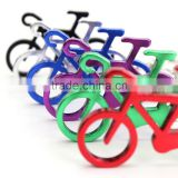 Novelty Bike Bicycle Keychain Keyring Bottle Wine Beer Opener Tool 6 Colors
