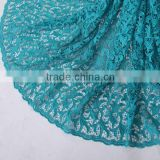 Hot selling wholesale new chemical lace designn fabric korea for girls dress