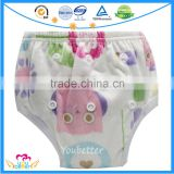Hot Selling Best One Size Baby Diaper Pants,Washable Reusable Bamboo Toddler Training Pants