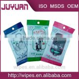 non alcohol soft pure facial wipes with iso