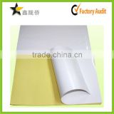 Super Quality Super Price Custom Print Cast Color A4 Size Sticker Paper Coated Barcode