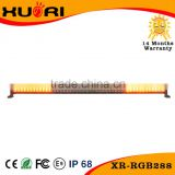 NEW arrival Red/Yellow/Bule/White four changing color 50inch super power 288w led emergency light bar with remote control