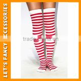 PGSK0207 lady party high silk stockings halloween party strip stocking girl's christmas stocking