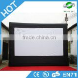 Factory price inflatable projection screen,inflatable outdoor movie screen,giant inflatable movie screen