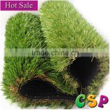 Natural looking 30mm 4 tones Landscaping Artificial grass for garden / cheap synthetic grass turf
