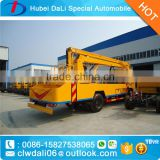 hand drive Lifting Platform Truck for 24m factory price