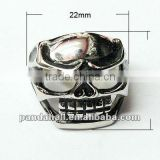 Fashion Stainless Steel Halloween Skull Rings(RJEW-G002-12)