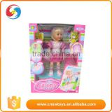 Battery operated bo flash dance plastic girl doll loli with music scooter                                                                         Quality Choice
