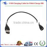 Replacement USB Cable for Fitbit Charge HR Cable, Fitbit One Wristband Charger