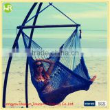 Outdoor Deluxe Caribbean Style Polyester Rope Hammock Chair                                                                         Quality Choice