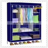 Modern apperance color folding fabric wardrobe for storage