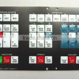 A98L-0001-0524#S Fanuc used cnc turning center keypad membrane